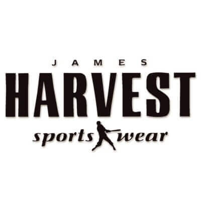 James Harvest Logo white large