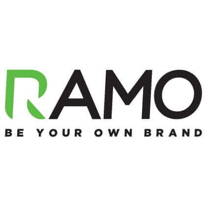 RAMO - Be your own brand logo